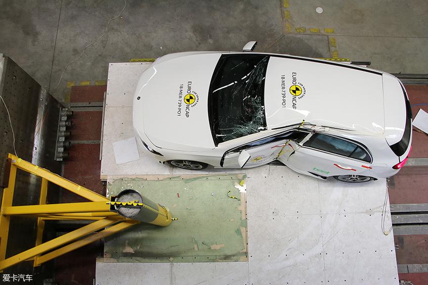 奔驰A级;E-NCAP碰撞测试