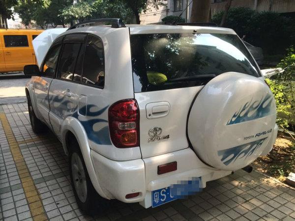 2004年上牌丰田rav4(进口)
