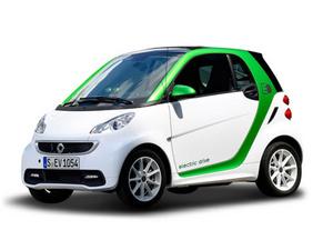 smart fortwo 电动车图片