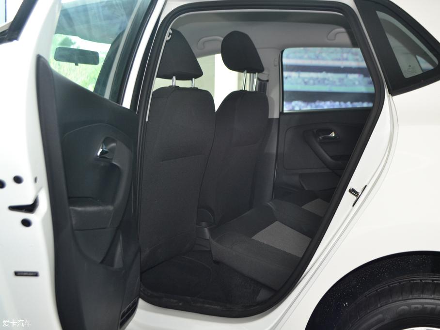 2018款Polo两厢 后排空间