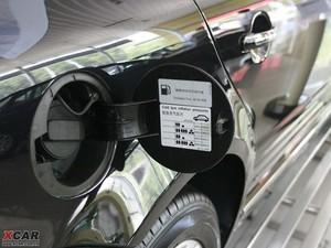 2009款2.8L 自动至尊版 油箱盖打开