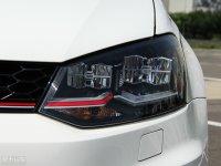 细节外观Polo GTI头灯