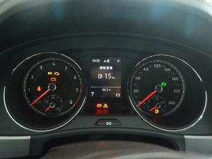 2017款330TSI 自动两驱豪华版 仪表