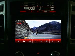 2018款3.0L 自动尊贵版 中控台显示屏