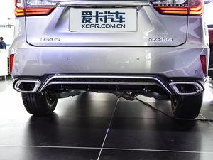 2016款200t 四驱F SPORT 尾排