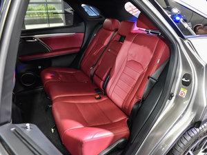 2016款200t 四驱F SPORT 后排座椅