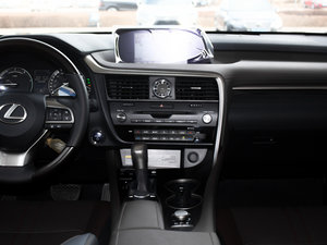 2016款450h 四驱豪华版 中控台