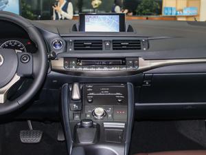 2017款200h 舒适版 单色 中控台