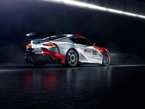 2019款GR Supra GT4 Concept 整体外观