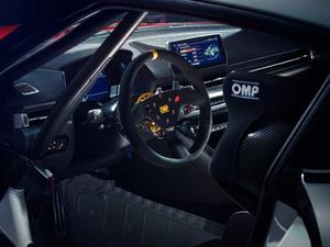 2019款GR Supra GT4 Concept 中控区