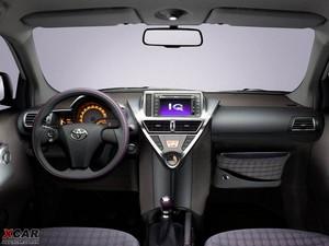 2009款丰田iQ 中控区