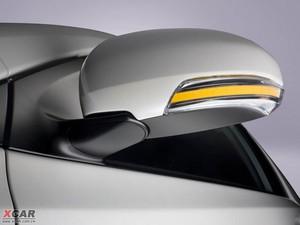2009款丰田iQ 后视镜