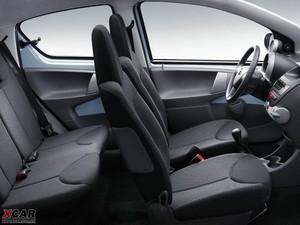 2009款丰田Aygo 空间座椅