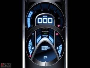2006款丰田FT-HS 仪表