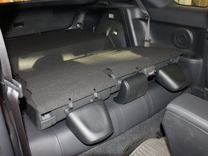 2011款2.5L 豪华版 后排座椅放倒