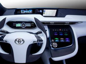2012款概念车 中控区
