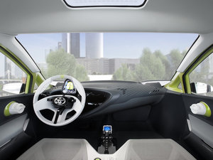 2010款概念车 中控区