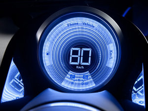2012款Plug-in Hybrid 中控区