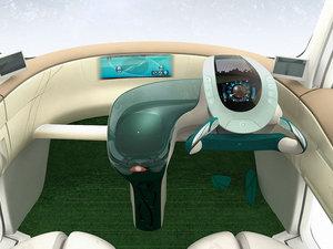 2007款概念车 中控区