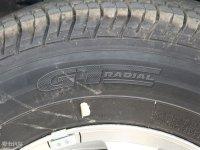 细节外观萨普轮胎品牌