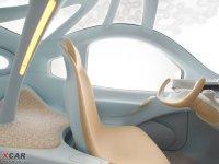 空间座椅日产NUVU空间座椅