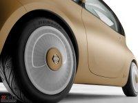 细节外观日产NUVU轮胎