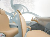 空间座椅日产NUVU前排空间