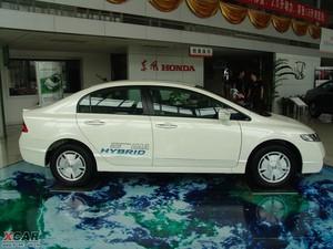 2009款1.3L 混合动力 纯侧