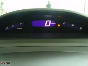 2009款1.3L 混合动力 中控区