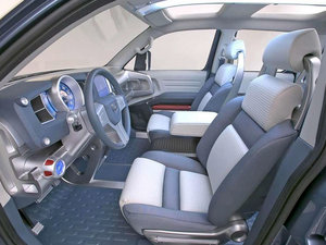 2004款概念车 中控区