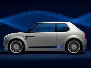 2017款EV概念车 整体外观