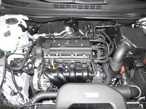 悦动发动机舱部件图解-五款低养车成本合资紧凑级车 自动篇高清图片