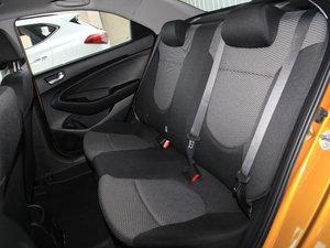 2017款1.4L 自动跃劲版 后排座椅