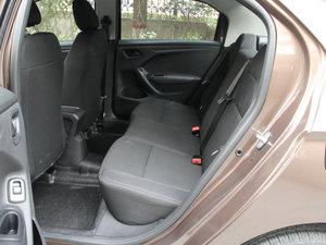 2017款1.6L 手动舒适版 后排空间