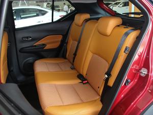 2017款1.5L XV CVT智行版 后排座椅