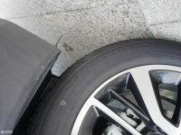 细节外观长安CS55混动轮胎尺寸