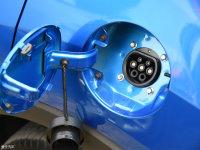 细节外观长安CS15 EV油箱盖打开