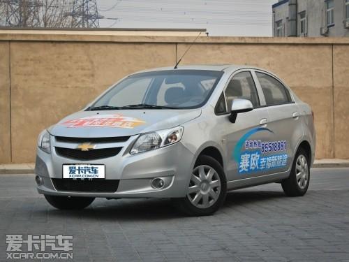 上海通用雪佛兰 2011款赛欧三厢高清图片