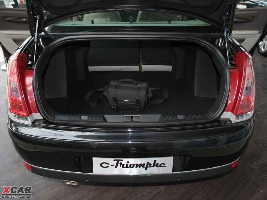 2010款凯旋 行李厢空间