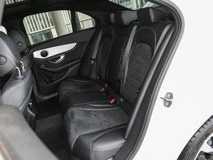 2017款改款 C 200 4MATIC 运动版 后排座椅