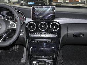 2017款改款 C 200 运动版 中控台
