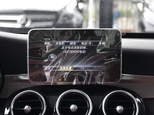 2017款改款 C 200 运动版 中控台显示屏