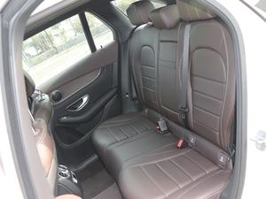 2018款GLC 300 4MATIC 动感型 后排座椅