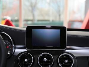 2018款C 200 L 运动版 中控台显示屏