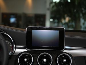 2018款C 200  L 4MATIC 运动版 中控台显示屏