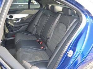 2018款C 200 运动版 后排座椅
