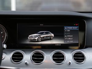 2018款E 200 运动版 中控台显示屏