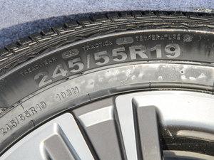 2017款2.0T 自动豪华型 轮胎尺寸