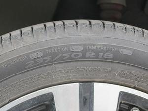 2017款ERX5 EV400 电动互联至尊版 轮胎尺寸