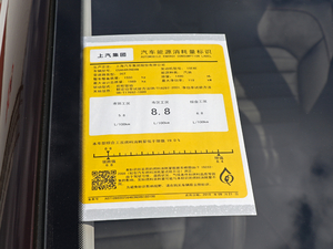 2018款20T 自动两驱荷尔蒙激情版 工信部油耗标示